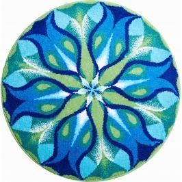 GRUND Mandala předložka TICHÁ ZÁŘ modrozelená Typ: kruh 60 cm