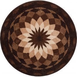 GRUND Mandala předložka ZAHRADA KLIDU hnědá Typ: kruh 60 cm