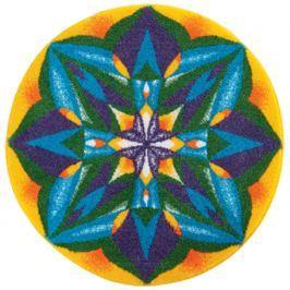 GRUND Mandala předložka SEBEDŮVĚRA modrá Typ: kruh 100 cm