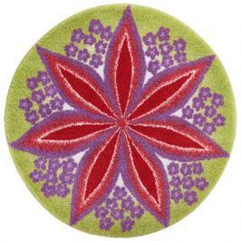GRUND Mandala předložka ROZKVĚT červená Typ: kruh 80 cm