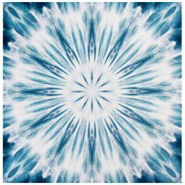 GRUND Mandala koberec ROZHODNOST modrý Typ: 120x120 cm