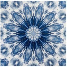 GRUND Mandala koberec ODPOUTÁNÍ modrý Typ: 140x140 cm Emotivní kolekce Mandala