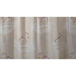 GRUND Sprchový závěs DELPHIN béžový Typ: 120x200 cm