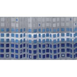 GRUND Sprchový závěs KASKADE modrý Typ: 180x180 cm