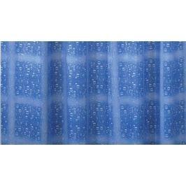 GRUND Sprchový závěs WATER EFFECT modrý