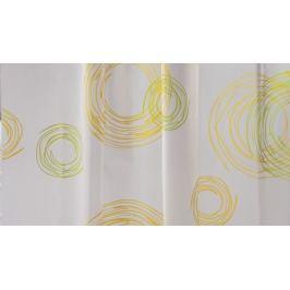 GRUND Sprchový závěs EVELINE žlutozelený Typ: 180x200 cm