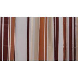 GRUND Sprchový závěs WENDY hnědý Typ: 120x200 cm