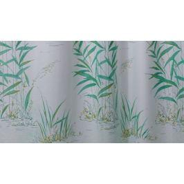 GRUND Sprchový závěs CANNETO zelený Typ: 120x200 cm Textilní závěsy