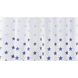 GRUND Sprchový závěs STARS modrý