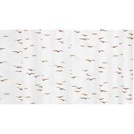GRUND Sprchový závěs UCELLO béžový Typ: 120x200 cm