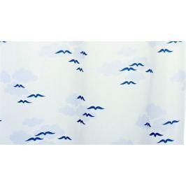 GRUND Sprchový závěs NUBE modrý Typ: 120x200 cm