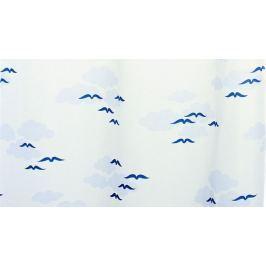 GRUND Sprchový závěs NUBE modrý Typ: 180x200 cm