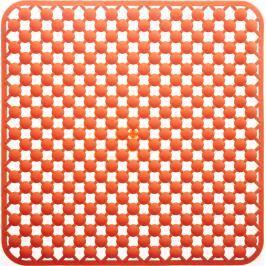 GRUND Protiskluz MAGGEO oranžový Typ: 53x53 cm