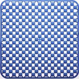 GRUND Protiskluz MAGGEO modrý Typ: 53x53 cm