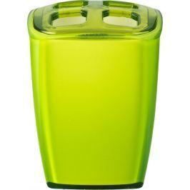 GRUND Kelímek na kartáčky NEON zelený