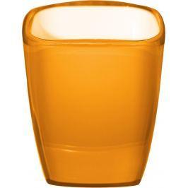 GRUND Kelímek na kartáčky NEON pomerančový