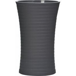 GRUND Kelímek na kartáčky TOWER černý Stojany na kartáčky