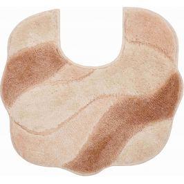GRUND Koupelnová předložka CARMEN béžová Typ: 55x50 cm s výřezem pro WC