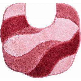 GRUND Koupelnová předložka CARMEN růžová Typ: 55x50 cm s výřezem pro WC