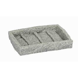 WENKO Miska na mýdlo GRANITE šedá