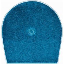 GRUND Koupelnová předložka CRYSTAL LIGHT tyrkysová Typ: 47x50 cm - na víko od WC nebo jako podsedák na židli