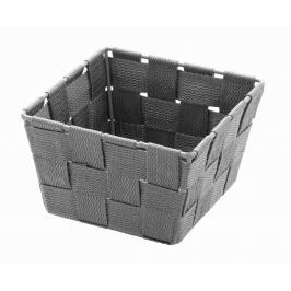 WENKO Úložný box čtvercový ADRIA šedý Úložné boxy