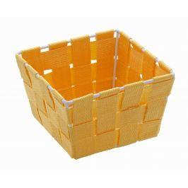 WENKO Úložný box čtvercový ADRIA pomerančový