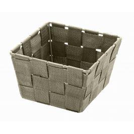 WENKO Úložný box čtvercový ADRIA tmavošedý Úložné boxy