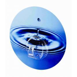 WENKO nástěnný háček Bez vrtání StaticLoc UNO WATER CYCLE modrý