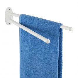 WENKO Věšák na ručníky BASIC bílý