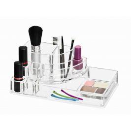 WENKO Organizér na kosmetiku osmikomorový FEMME průhledný