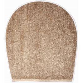 GRUND Koupelnová předložka CURTS béžová Typ: 47x50 cm - na víko od WC nebo jako podsedák na židli Prémiová kolekce GRUND 2018
