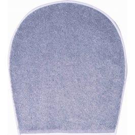 GRUND Koupelnová předložka DUNA šedá Typ: 47x50 cm - na víko od WC nebo jako podsedák na židli