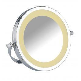 WENKO LED kosmetické zrcátko BROLO nerez