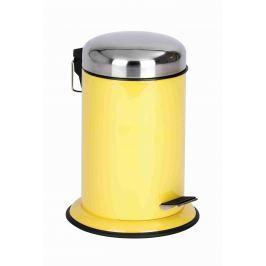 WENKO Kosmetický koš nášlapný RETORO žlutý