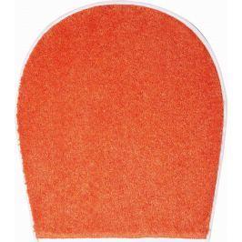 GRUND Koupelnová předložka DUNA pomerančová Typ: 47x50 cm - na víko od WC nebo jako podsedák na židli Prémiová kolekce GRUND 2018