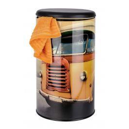 WENKO Koš na prádlo VINTAGE BUS oranžový