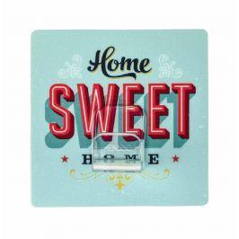 WENKO Věšák na kabelky HOME SWEET HOME modrý