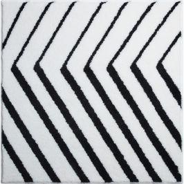GRUND Čtvercová předložka STRIPE bílá 90x90 cm Koupelnové předložky