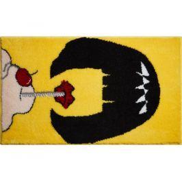 GRUND Koupelnová předložka PULPFICTION žlutá 60x100 cm