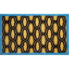 GRUND Koupelnová předložka RETRO žlutá 60x100 cm