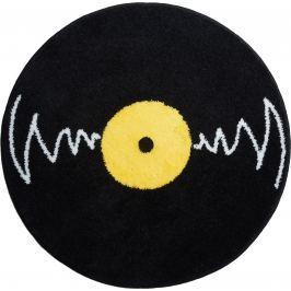 GRUND Kruhová předložka VINYL černá kruh 80 cm