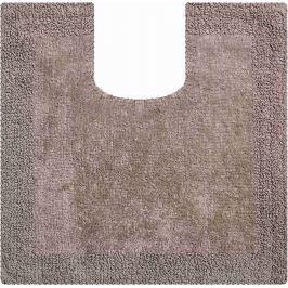 GRUND Koupelnová předložka PRIMO hnědá Typ: 55x55cm s výřezem pro WC