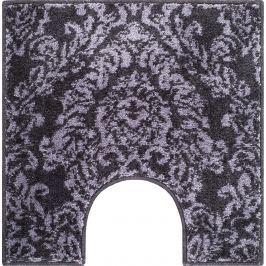 GRUND Koupelnová předložka TOURNAI šedá Typ: 55x55 cm s výřezem pro WC