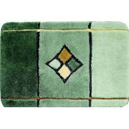 GRUND Koupelnová předložka AKANT zelená Typ: 47x50 cm - na víko od WC nebo jako podsedák na židli Předložky do koupelny
