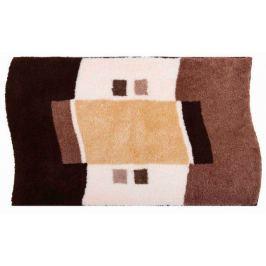 GRUND Koupelnová předložka LUGANO hnědá Typ: 50x60 cm