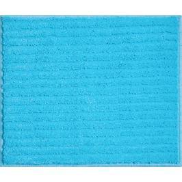 GRUND Koupelnová předložka RIFFLE tyrkysová Typ: 50x60 cm