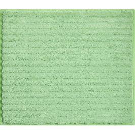 GRUND Koupelnová předložka RIFFLE zelená Typ: 50x60 cm