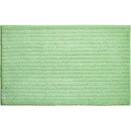 GRUND Koupelnová předložka RIFFLE zelená Typ: 70x120 cm