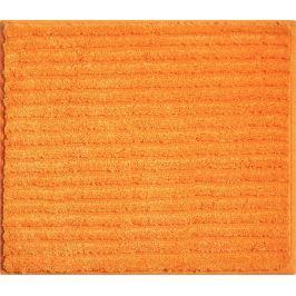 GRUND Koupelnová předložka RIFFLE oranžová Typ: 50x60 cm